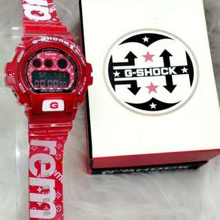 G-shock Supreme Red Edition