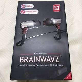 Brainwavz S3 IEM Noise Isolating Earphones with Clearwavz Remote and Microphone