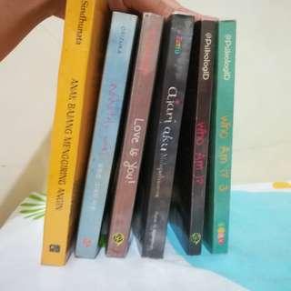 Berbagai Buku Bacaan & Novel dalam Kondisi Baik