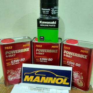 Engine oil Mannol made in Germany