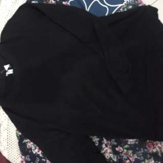 hnm sweater black