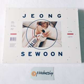 [WTS] READYSTOCK SEALED JEONG SEWOON ALBUM