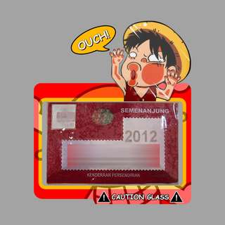 Road Tax Sticker - Luffy Glass Face