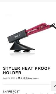 AMIKA直髮夾Holder - Heat proof