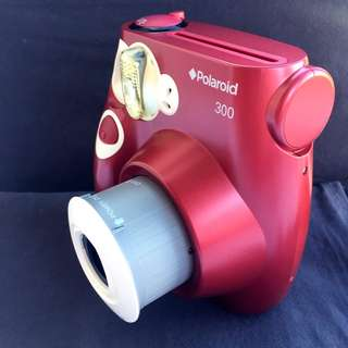 Authentic red polaroid 300