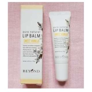 Beyond Pure Natural Lip Balm - Sweet Vanilla