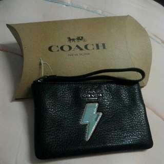 Coach wristlet - thunder