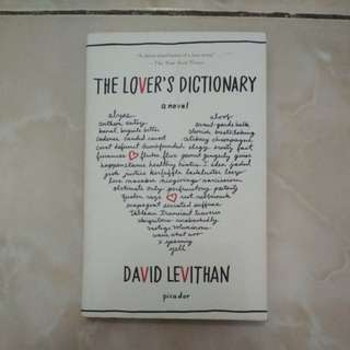 David Levithan - The Lover's Dictionary