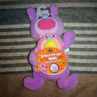 Mattel Sing-A-Ma-Jigs Duets Purple