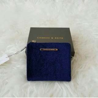 Ck Textured Square Wallet Original