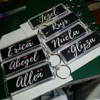 Customized Keychains 💛