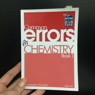 Hkdse chemistry common error