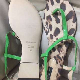 Dolce & Gabbana origina tiger pattern sandals
