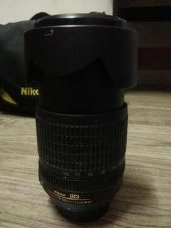 Nikon original lens 18x105mm . jual sbb dah upgread yang baru . condition 10/10 boleh tengok dulu. harga boleh nego sampai jadi