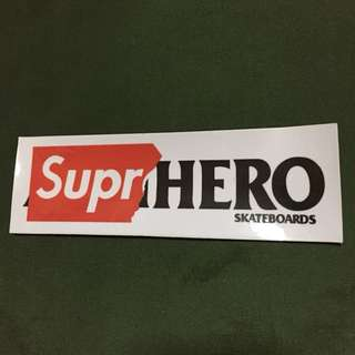 Supreme x Anti Hero Sticker (big)