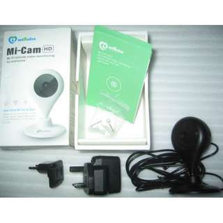 Mi-Cam Network WiFi Camera  (able to do mobile viewing with apps)