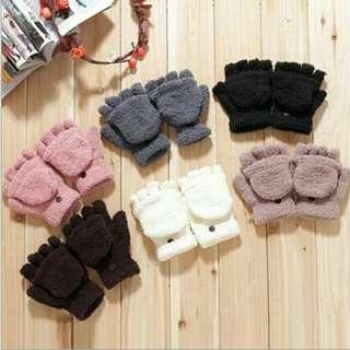 Plain Gloves/Fingerless Mittens