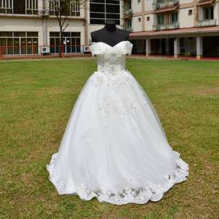 Pre-loved bridal gown