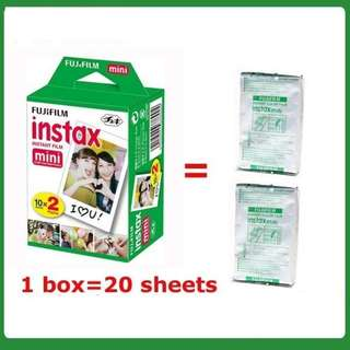 Fujifilm Instax Mini Twin Pack Film (20pcs)