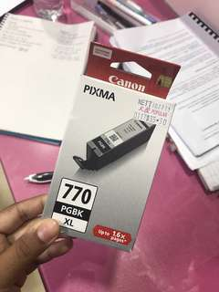 (INSTOCK) Canon printer black ink