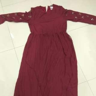 Poplook dress,  Jubah