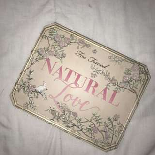 Too Faced Natural Love ✨