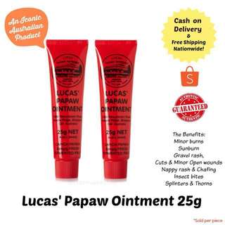 Lucas Papaw Ointment 25grams tube