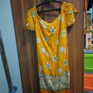 Daster batik leher sabrina