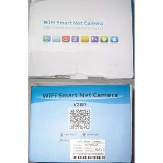 Wifi Smart Net Camera V380 . 720p HD . can do mobile viewing with apps