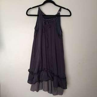 Purplish Payne's grey Slip dress