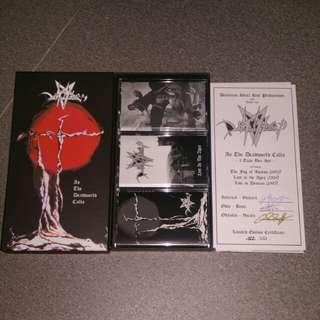 Desaster Tape boxset - As The Deadworld Calls