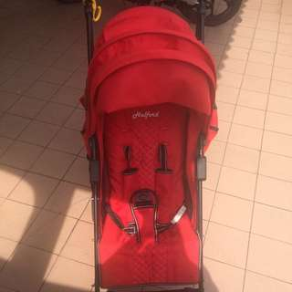 💯Original Stroller Halford Fliflite RED