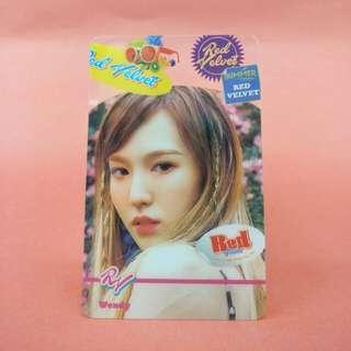 Red Velvet Wendy Transparent Card
