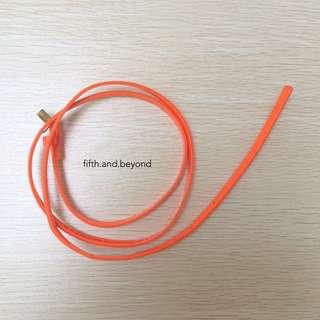 H&M Neon Orange Belt
