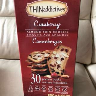 Thin addictives - Cranberry