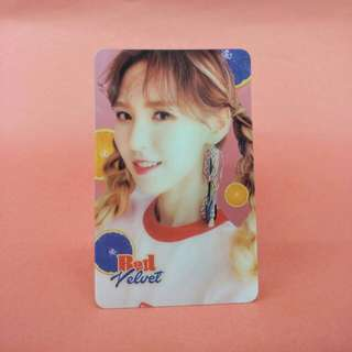 Red Velvet Wendy Transparent Card