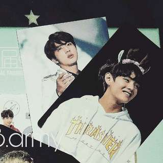 BTS JAPAN FM DVD JIN場內限定小卡 V盒內小卡