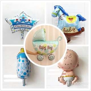 PartyHero baby shower balloons (FREE DELIVERY!)