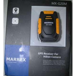 GPS Receiver for Nikon Camera (Geotagger) . Marrex MX-G20M
