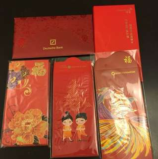 Red Packets, ang pows from various banks