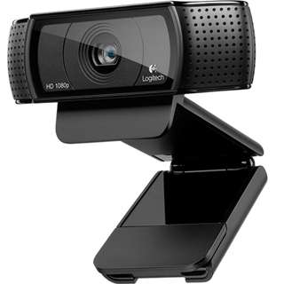 Brand New Logitech HD Pro Webcam C920, Widescreen Video Calling and Recording, 1080p Camera