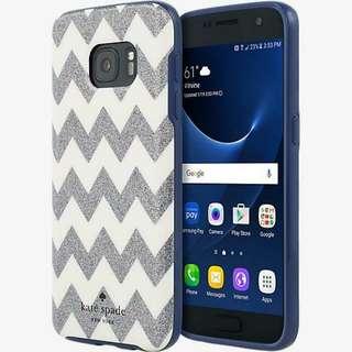Samsung Galaxy S7 Incipio Kate Spade New York Hybrid Hardshell Case - Chevron