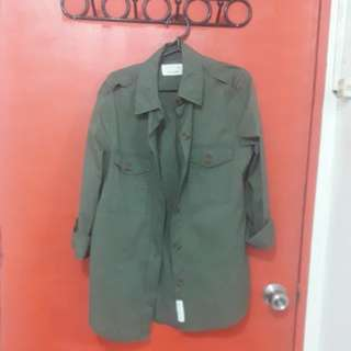 Calliope army green jacket