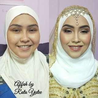 Engagement, Solemnisation,Wedding makeup