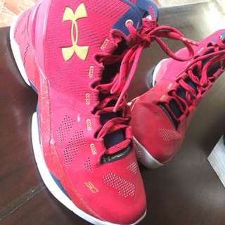 Underarmour Curry 2 Floor General 9.5 USA