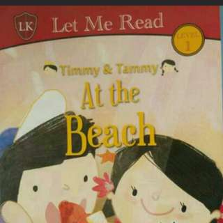 Timmy and Tammy at the beach