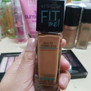 Maybelline Fit Me Foundation (Toffee Caramel)