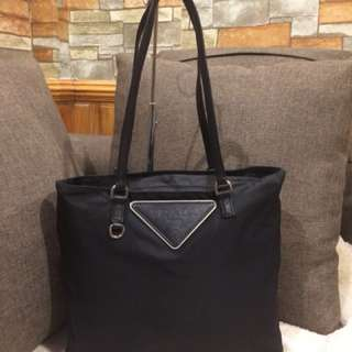 Authentic Prada Tote Bag
