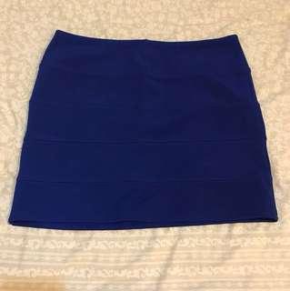 Rok mini blue biru