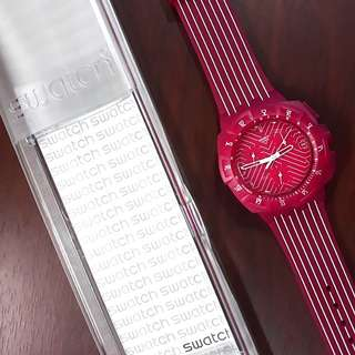 Swatch Women's SUIP Pink Run Watch